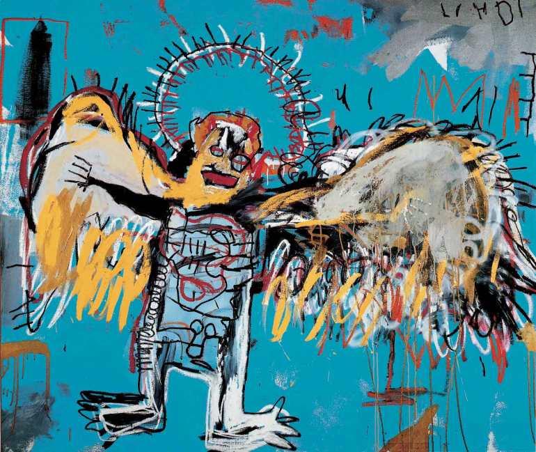 Fallen Angel 1981 - Basquiat